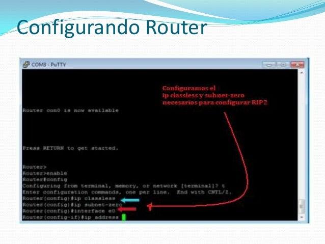 Configurando Router