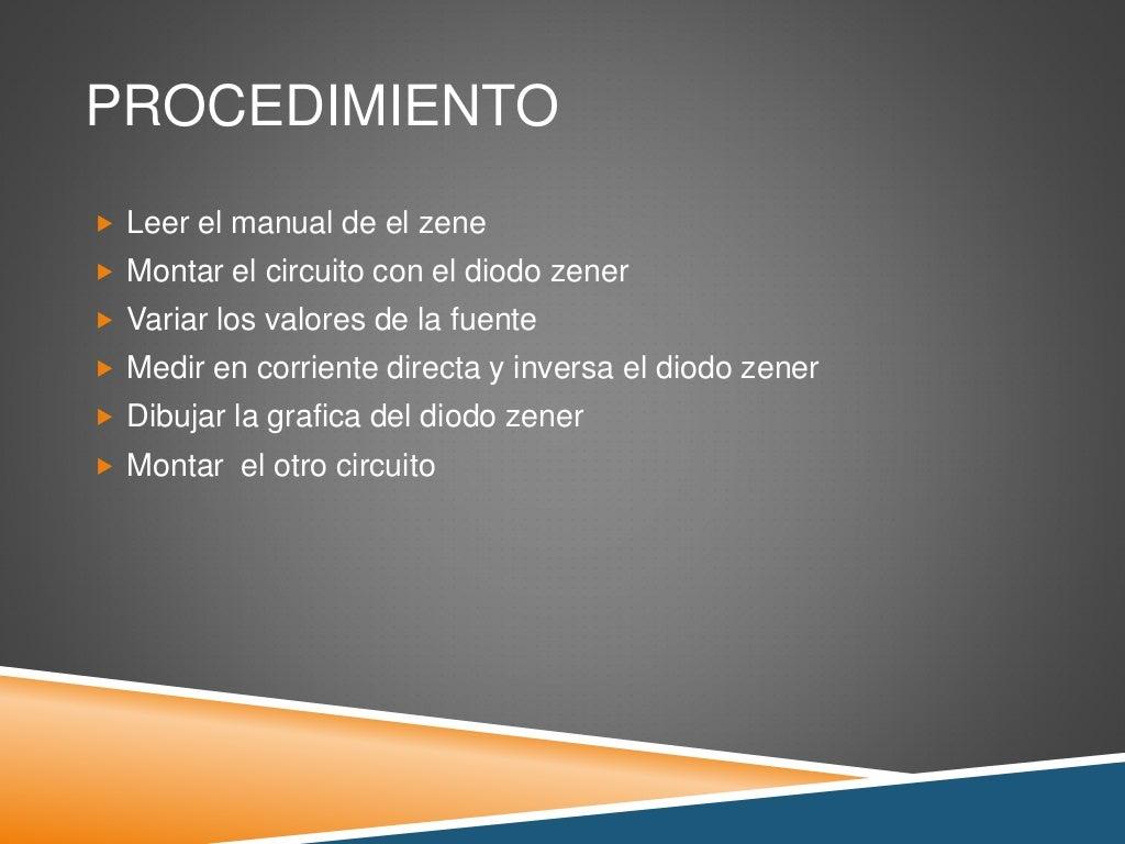 Circuito Zener : Practica 8