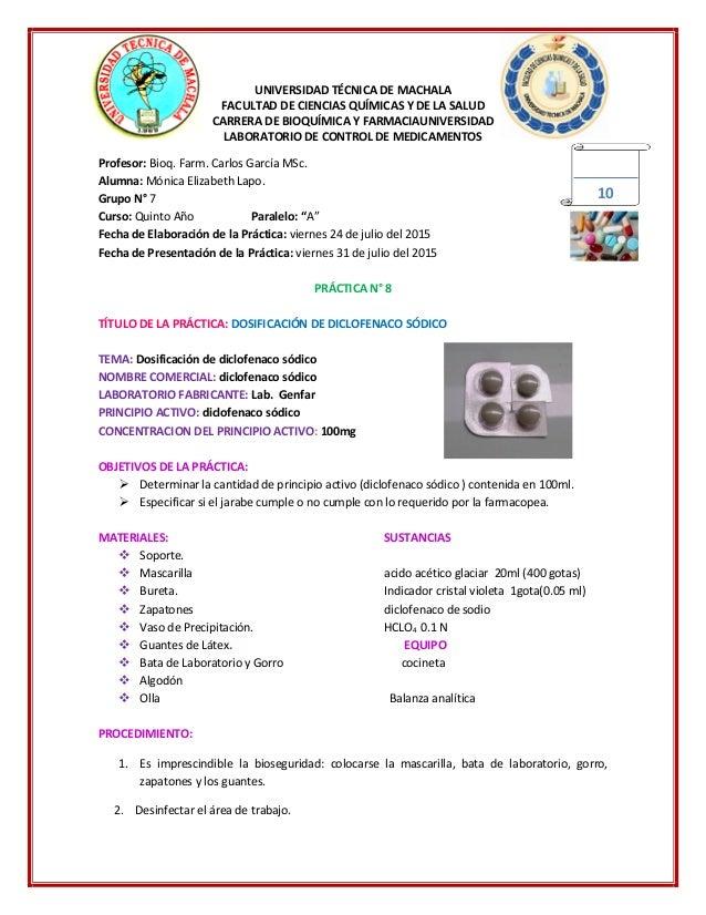 UNIVERSIDAD TÉCNICA DE MACHALA FACULTAD DE CIENCIAS QUÍMICAS Y DE LA SALUD CARRERA DE BIOQUÍMICA Y FARMACIAUNIVERSIDAD LAB...