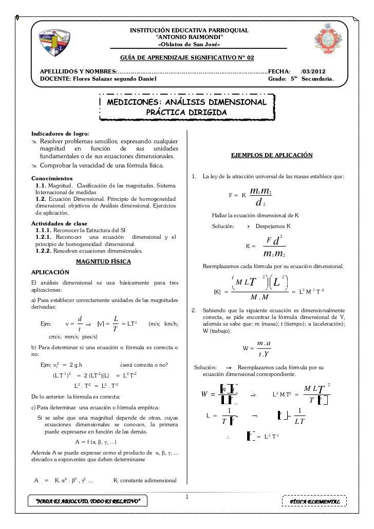"""INSTITUCIÓN EDUCATIVA PARROQUIAL                                                               """"ANTONIO RAIMONDI""""         ..."""
