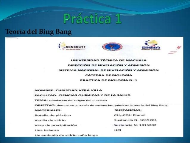 Teoría del Bing Bang