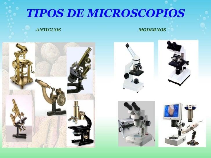 Resultado de imagen para tipos de microscopio