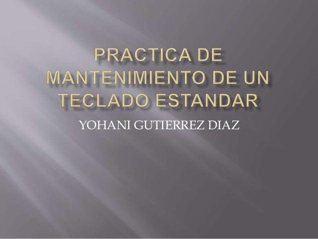 YOHANI GUTIERREZ DIAZ