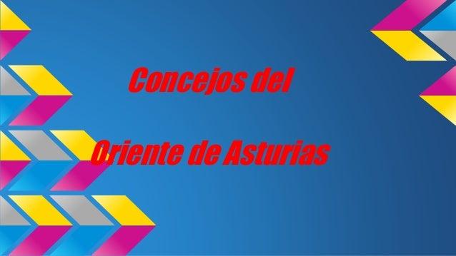 Concejos del Oriente de Asturias