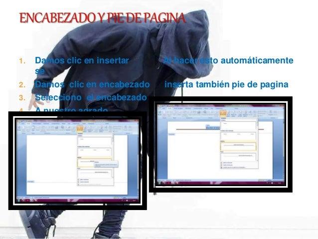 Practica de word informatica Slide 3