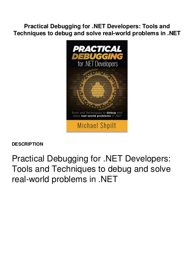 Preview Copy Link to Download : https://greatfull.fileoz.club/B08DSS7VG7 Practical Debugging for .NET Developers: Tools an...
