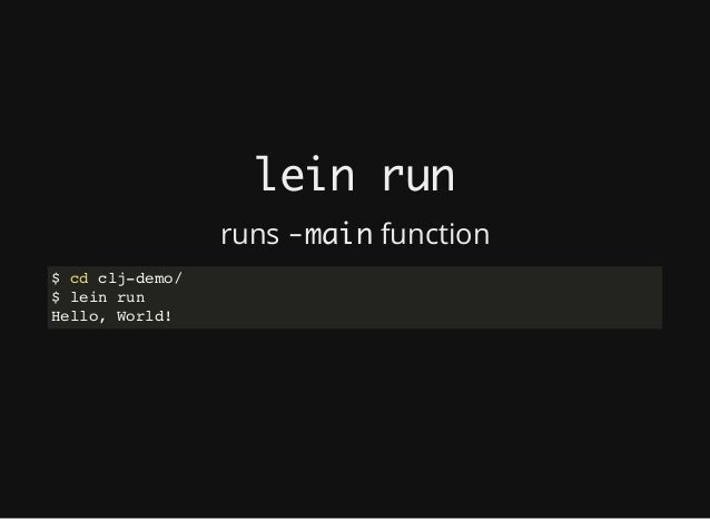 Practical REPL-driven Development with Clojure