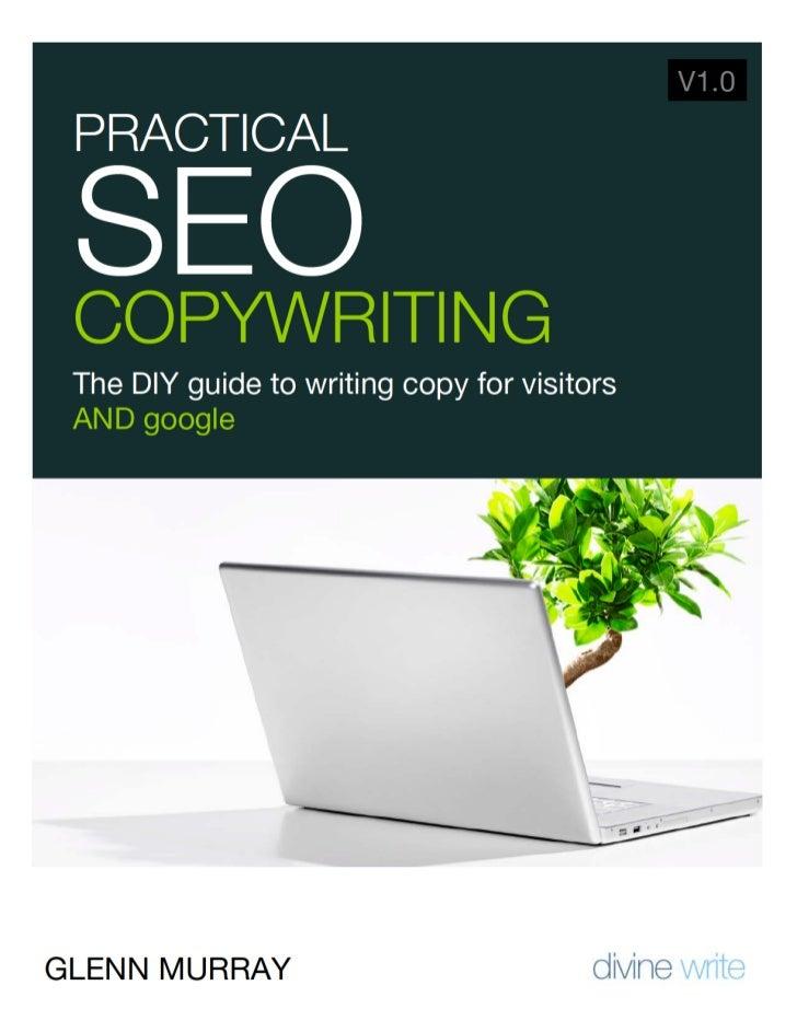 Copyright Information 2© Copyright 2002 - 2009 Divine Write Copywriting Pty LtdThe right of Divine Write Copywriting Pty L...