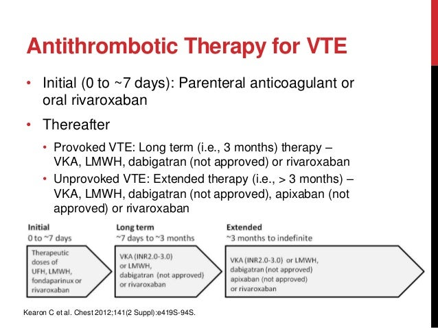 2012 accp guidelines for antithrombotic therapy