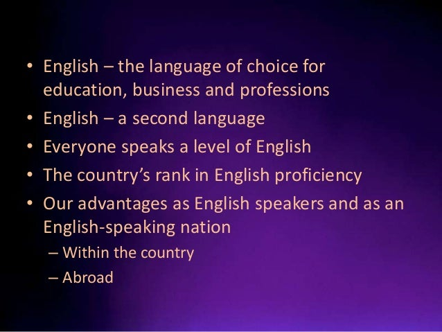english language proficiency of filipinos Proficiency in english measures the self-assessed proficiency in spoken english  of people who speak a language other than english at home typically.
