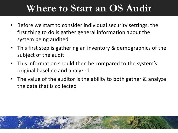 Practical, efficient unix auditing with scripts