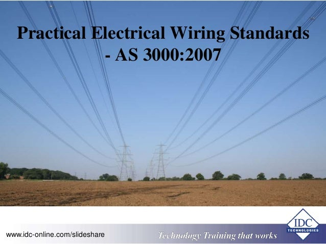 Practical Electrical Wiring Standards - AS 30002007 .idc-online.com ... : as3000 wiring rules free download - yogabreezes.com