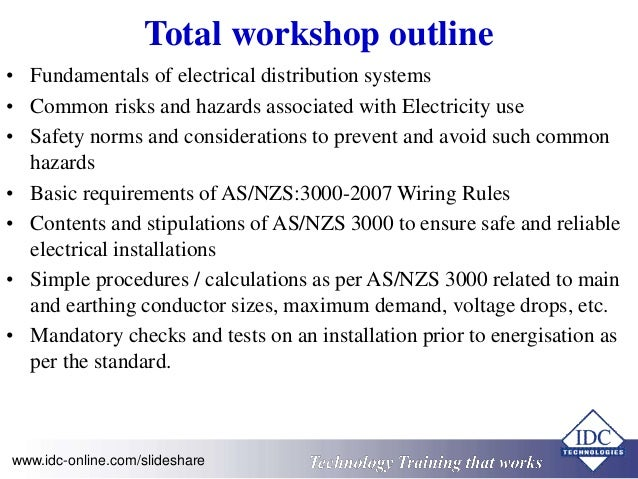Practical Electrical Wiring Standards - AS 3000:2007