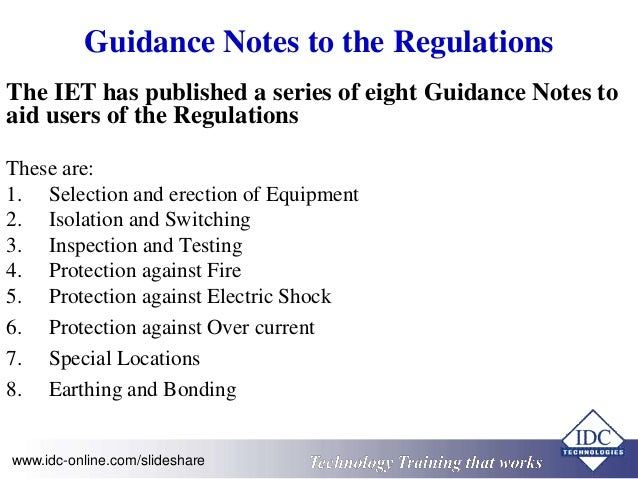 Practical Electrical Wiring Standards - IEE BS7671:2008+A1:2001 Editi…
