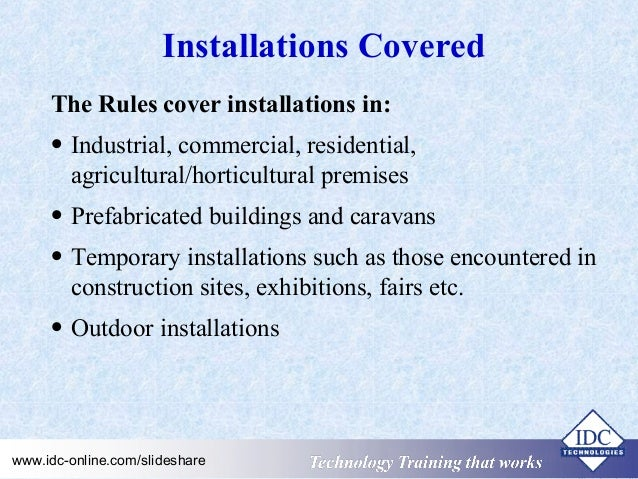 practical electrical wiring standards national rules for electrical rh slideshare net Residential Electrical Wiring Diagrams Electrical Wiring Diagrams For Dummies