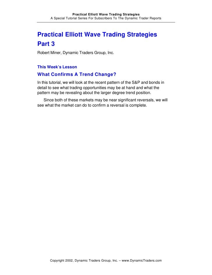 White wave trading strategies