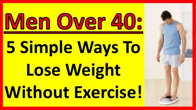 ways to lose weight without trying