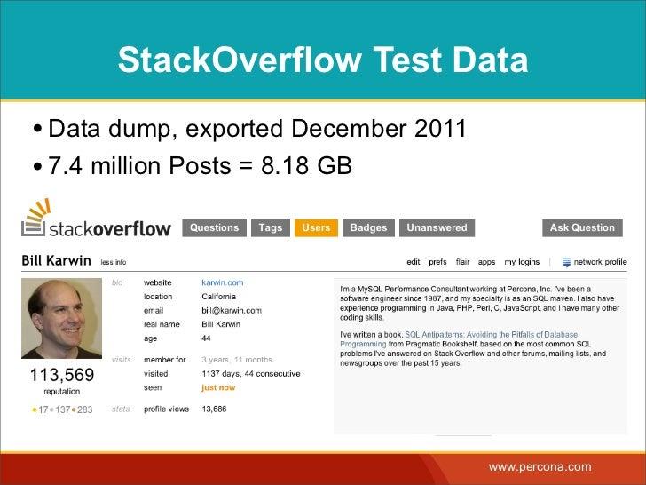 Full Text Search Throwdown Slide 3