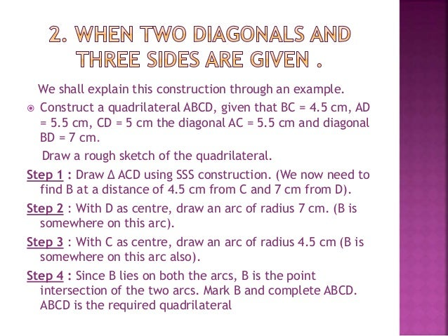 practical geometry for class 8th