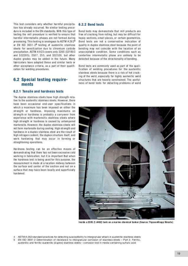 Practical guidelines for the fabrication of duplex
