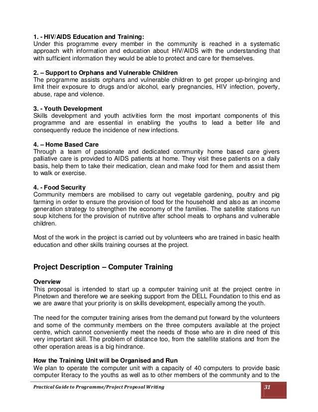 Training Program Proposal Template Camisonline Net