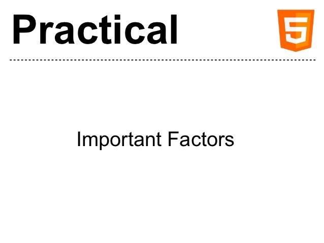 Practical HTML5 Slide 3