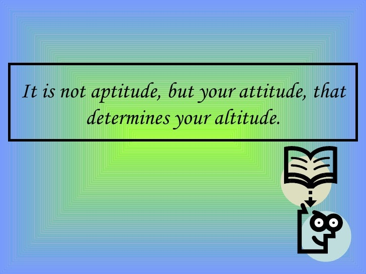 attitude not likely characteristics depends on altitude composition typer