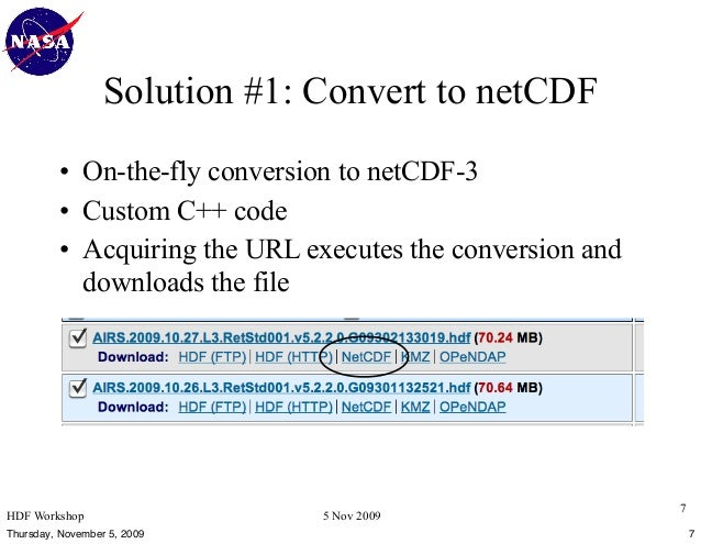 Practical Methods for Making HDF Data Usable by NetCDF-based