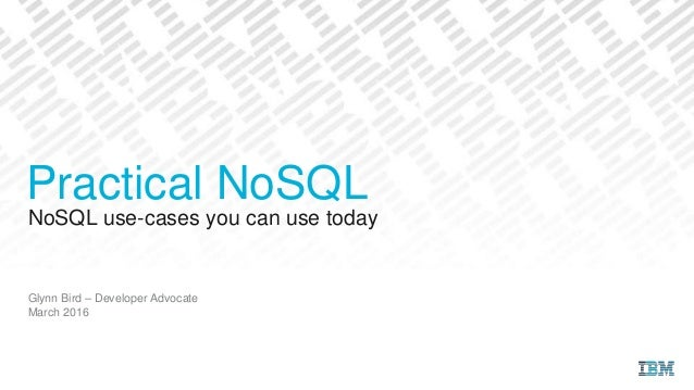 Practical Use of a NoSQL Database