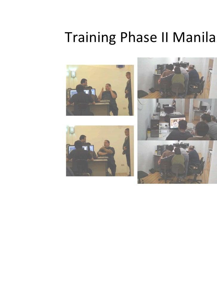 Training Phase II Manila