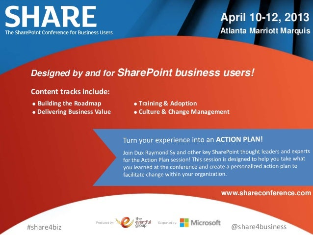 April 10-12, 2013                                                               Atlanta Marriott Marquis Designed by and f...