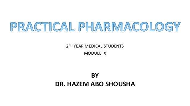 2ND YEAR MEDICAL STUDENTS MODULE IX BY DR. HAZEM ABO SHOUSHA