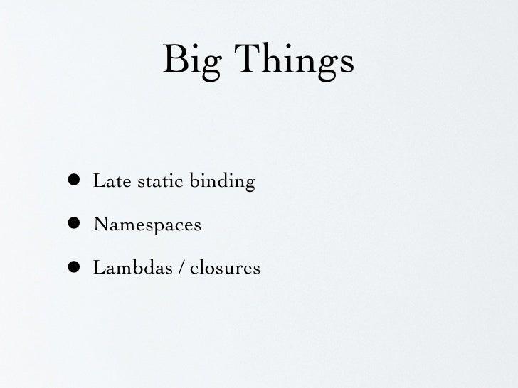 Late-static binding (LSB) class Base {     public static function foo() {         $subclass = get_called_class();         ...