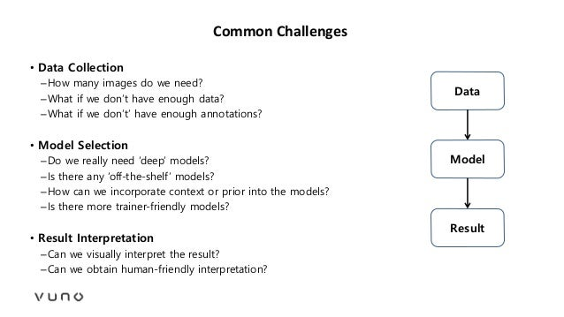 Common Challenges • Data Collection –How many images do we need? –What if we don't have enough data? –What if we don't' ha...