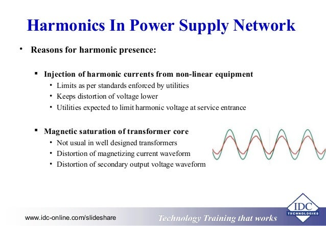 harmonics in power systems thesis System and method for determining harmonic contributions from nonlinear loads in power systems approved by: dr ronald g harley, advisor school of electrical and computer.