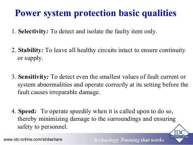 Practical Power System Protection For Engineers And