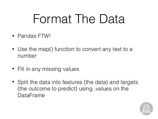 Practical Predictive Modeling in Python