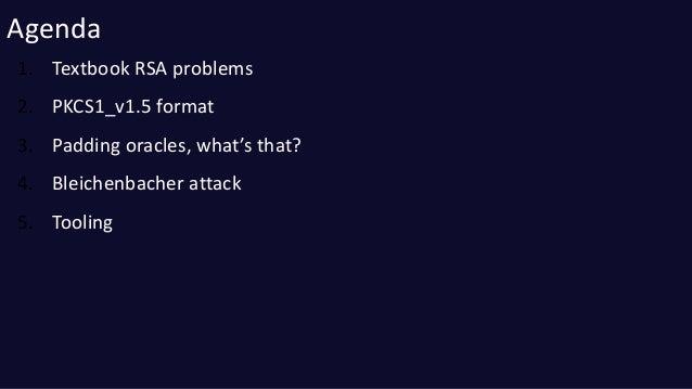 Practical rsa padding oracle attacks Slide 2