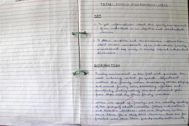 IGNOU Practicum Notebook - MAPC Ist Year Slide 3