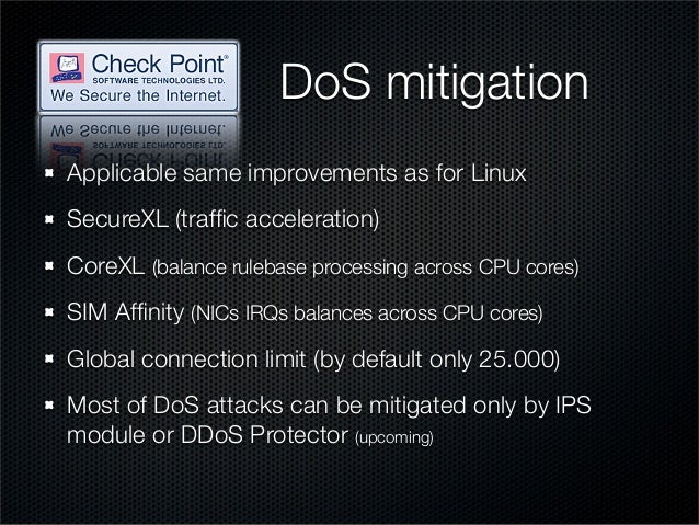 Practical steps to mitigate DDoS attacks