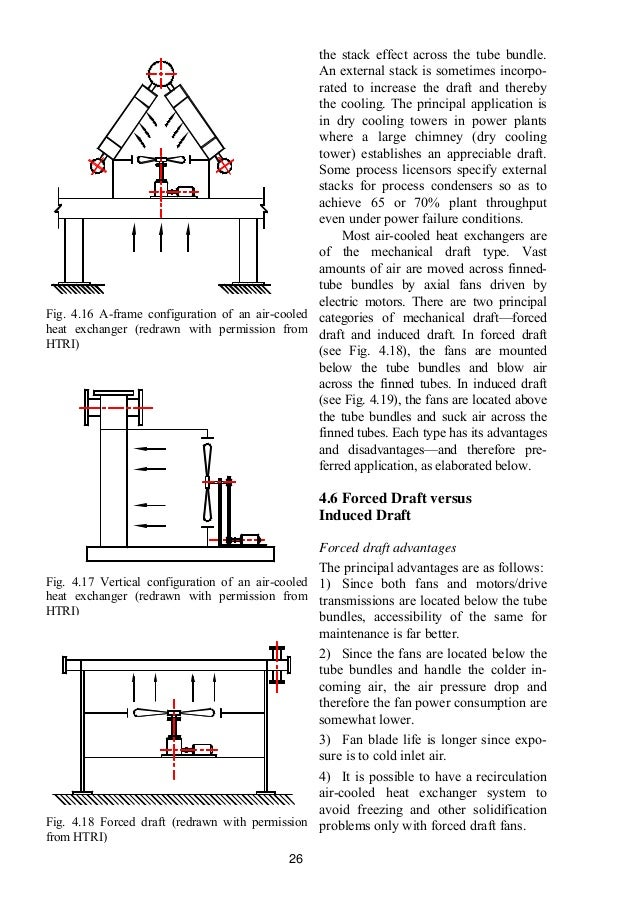 Practical thermal design of air cooled heat exchangers