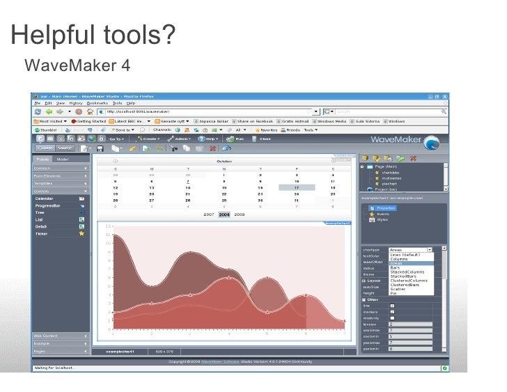 Helpful tools?  WaveMaker 4