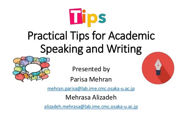 6A. Academic Speaking