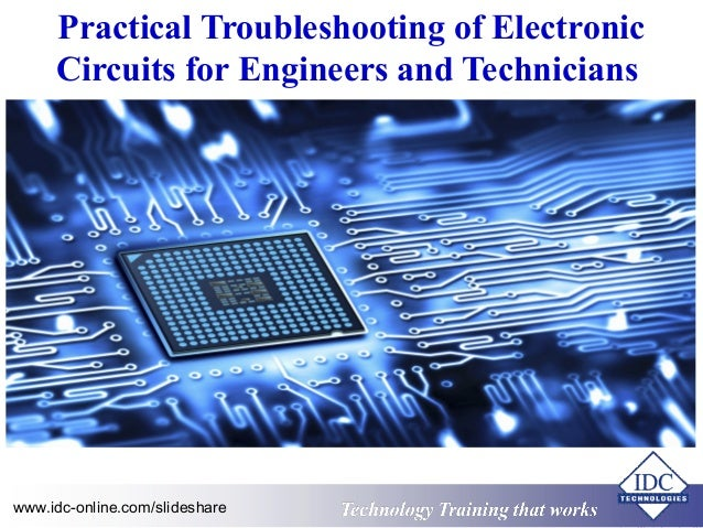 Practical Troubleshooting of Electronic Circuits for Engineers and Te…