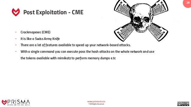 Practical White Hat Hacker Training - Post Exploitation