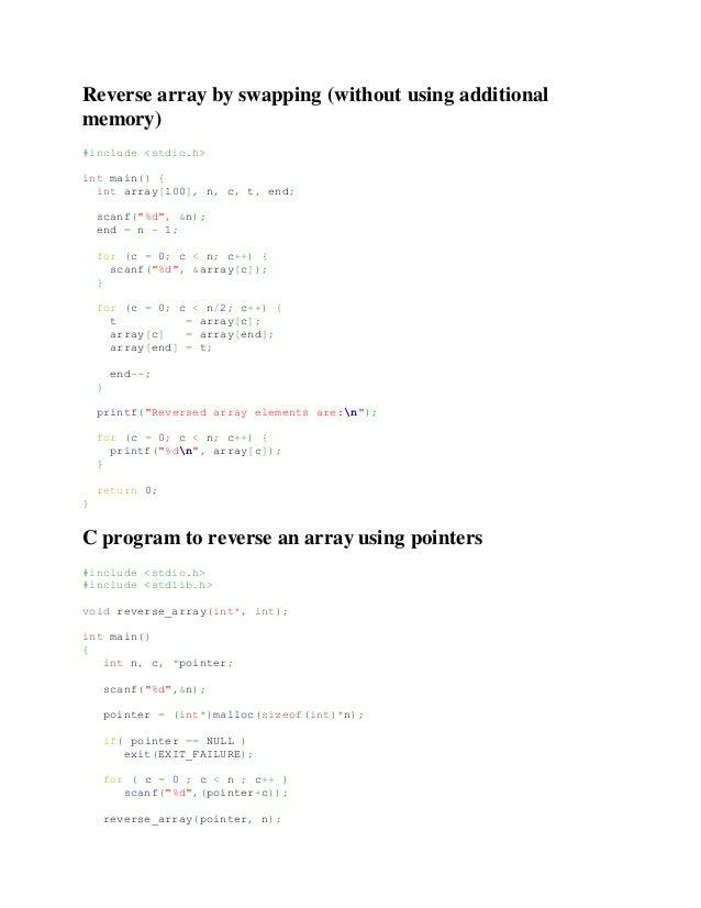 Array data type