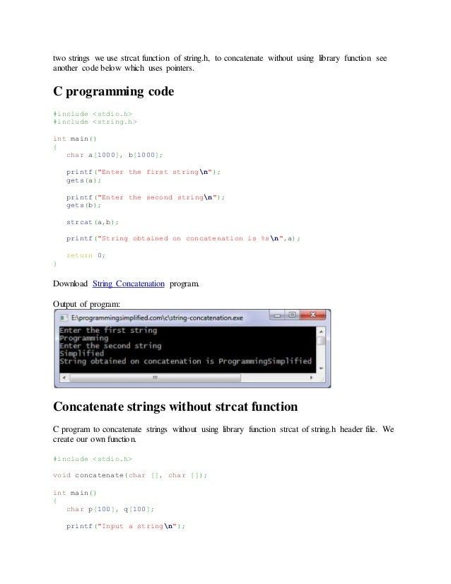 write a c program to reverse a string without using a second array