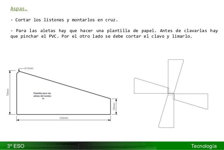 Contemporáneo Plantilla De Molino De Viento Elaboración - Colección ...