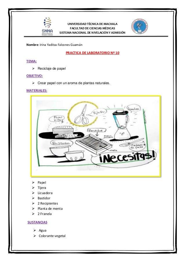 Practica papel reciclado 10