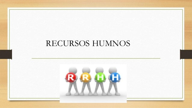 RECURSOS HUMNOS